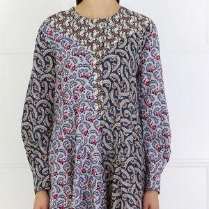 """Isabel Marant """"Etoile Lissande Patchwork Dress"""""""